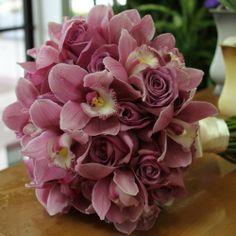 Lavender Bridal Hand-Tied Bouquet