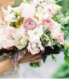 Joli bouquet pastel