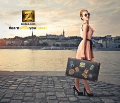 Are you traveling with excess baggage space? Now you can use ZALDEE App and earn while you travel. www.zaldee.com  . Zaldee – earn while you travel, is the coolest way to earn money from excess baggage space available with you while traveling anywhere.  ‪ #zaldee #earnwhileyoutravel #travel #traveling #traveler #sharing #budgettravel #journey #package #luggage #vacation #holiday #holidays #backpack #backpacks #shareeconomy