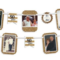 We Still Do - 50th Wedding Anniversary - Photo Garland Banners