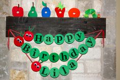 Hungry Caterpillar Banner