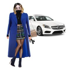"""""""Chic"""" by bacelarlouisa ❤ liked on Polyvore featuring Mercedes-Benz, Chanel, Maison Margiela, Hanes, H&M, Elie Saab, Valentino, Gianvito Rossi and Vivienne Westwood"""