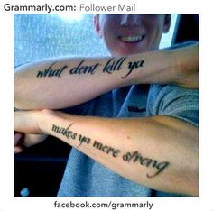 The 19 Most Hilarious British Tattoo Fails Of All Time Bad Tattoos, Cool Tattoos, Awesome Tattoos, Tatoos, Terrible Tattoos, Epic Tattoo, Crazy Tattoos, Tattoo Fails, Tattoo Quotes