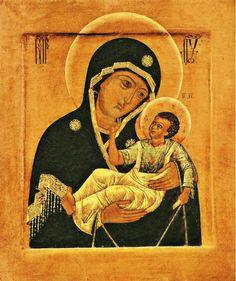 икона Божией матери «СЛОВЕНСКАЯ» Богородицы
