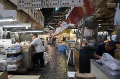 Make sure to visit Tsukiji fish market! A must when visiting Tokyo
