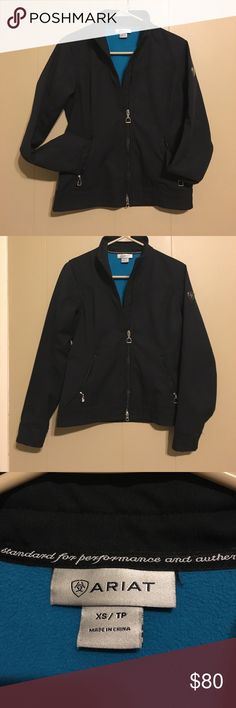 Ariat Jacket (Equestrian) - Size XS Hi! I'm selling an Ariat Jacket in size XS. The jacket was worn once and is in very good condition (no holes, zippers work). Let me know if you have any questions! Take advantage of the bundle discount to save! Thanks for checking out my closet! 😊 Ariat Jackets & Coats