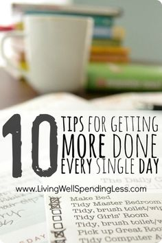 10 simple time management techniques for making the most of each day. Great advice for how to work more efficiently and make better use of your time! time management work from home time management Things To Know, Cool Things To Make, Simple Things, Fee Du Logis, Blogging, Time Management Tips, Business Management, How To Get, How To Plan