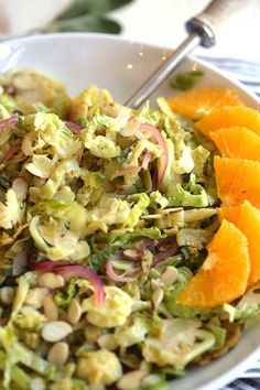 Warm Brussels Sprouts & Sage Salad
