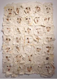 arlene morris Mixed Media Collage, Collage Art, Textiles, Textile Fiber Art, Fabric Art, Art Studios, Installation Art, Art Inspo, Wearable Art