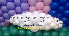 Ceilings - Decoration For Home Balloon Wall Decorations, Balloon Table Centerpieces, Birthday Decorations, Baby Shower Decorations, Balloon Gate, Balloon Clouds, Balloon Flowers, Balloon Template, Deco Ballon