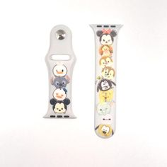 Details All Straps are Authentic Hong Kong Disneyland For Size / Apple Watch / iWatch Soft Rubber Silicone Replacement strap band for Apple . A great range of steel apple watch bracelets to suit every occasion Modern Watches, Elegant Watches, Stylish Watches, Cool Watches, Disney Apple Watch Band, Apple Watch Bracelets, Apple Band, Android Watch, Latest Watches