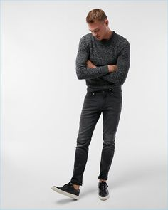 Express Skinny Black Tough Stretch+ Jeans