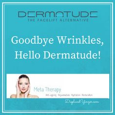 Goodbye Wrinkles - Hello Dermatude! Meta Therapy Face Lift Alternative - Displaced Yinzer