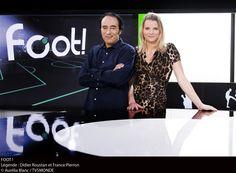 Didier Routand et France Pierron  #Foot