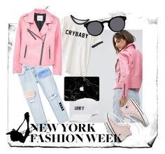 """""""Pink Style"""" by verlacomplacencia on Polyvore featuring moda, MANGO, Madewell, SO ve Valentino"""