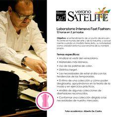 Verano Satélite - #Laboratorio intensivo de #FastFashion con Alberto De Castro. #moda #Caracas