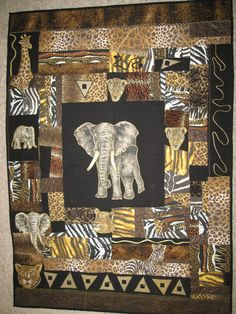 Out of Africa quilt                                                                                                                                                                                 More