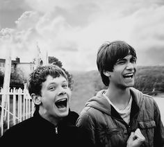 Freddie and Cook from Skins UK Skins Uk, Jaden Smith, Shay Mitchell, Millie Bobby Brown, Best Tv Shows, Favorite Tv Shows, Favorite Things, Effy And Freddie, Freddie From Skins