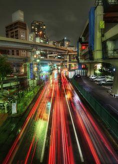 Zipping Through Tokyo, Japan by Stuck in Customs, via Flickr