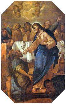 """Barroco no Brasil – A arte barroca como """"contadora de histórias"""" e doutrinadora: Jesus institui a Eucaristia, de José Teófilo de Jesus"""