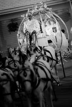 Begin your happily ever after in Cinderella's Coach with Disney's Fairy Tale Weddings & Honeymoons. Photo: Beth, Disney Fine Art Photography