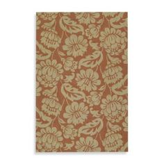 Kaleen Calypso Indoor/Outdoor Rug in Copper - BedBathandBeyond.com