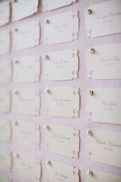 Place Card Board