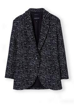 Tweed Car Coat