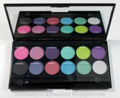 Sleek i-Divine i-Candy Eyeshadow Palette - Review, Swatches, and Makeup Looks