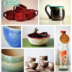 Variadito!!! Elegi lo que mas te gusta para estrenar este fin de semana largo!!! ‼️❕#sofipocetticeramica #ceramica #cuencos #deco…