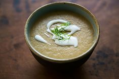 Chestnut Soup with Fennel Recipe | Simply Recipes