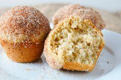 Cinnamon-Sugar Doughnut Hole Muffins