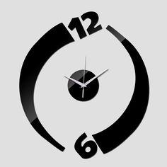 2015 nova chegada limitada acrílico relógios espelho relógio de parede para decoração moderna varanda / pátio frete grátis alishoppbrasil