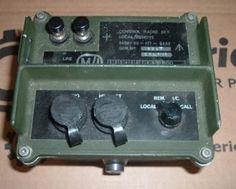 Clansman control box radio set