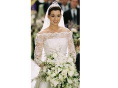 vestido de noiva de o diario de uma princesa