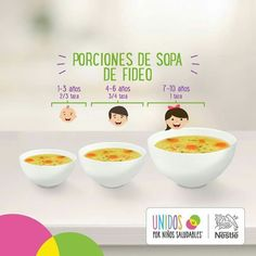 comidas para niños de 5 a 8 años