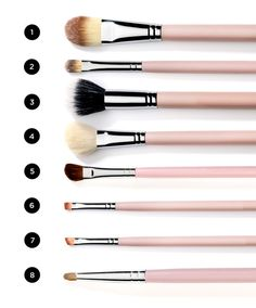 makeup tips Want the tricks professional makeup artists use without going to makeup school yourself? We went to a makeup academy and got the goods see our cheat sheet now Makeup Tricks, Makeup Tools, Makeup Brushes, Makeup Artists, Beauty Make-up, Beauty Secrets, Beauty Hacks, Beauty Tips, Natural Beauty