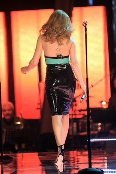 Kylie Minogue at The Voice