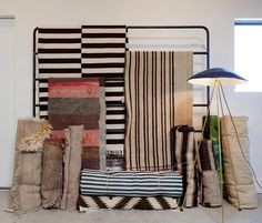 Rug Display Textiles