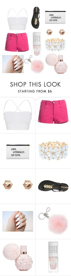 """spa day outfit ❤❤❤"" by yatsina ❤ liked on Polyvore featuring Theory, Charlotte Russe, IPANEMA and Michael Kors"
