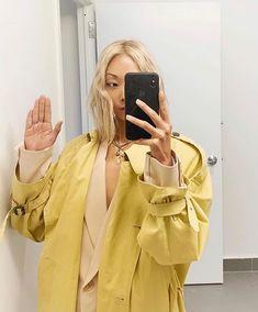 Lemon #trench #backinstock @thehautepursuit #frankiegirl #thefrankieshop Jacket Style, Her Style, Raincoat, Take That, Jackets, Trench, Vintage, Clothes, Lemon