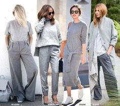 All Grey | Серый, Синий и Мода