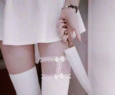 beauty, collants, dress, grunge, lame, pastel goth, white, noeux