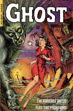 Ghost Comics #1, by Maurice Whitman