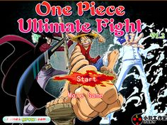 One Piece Ultimate Fight [Flash Game for PC] - One-Piece Games Play Game Online, Online Games, More Games, Best Games, Super Smash Flash 2, Ultimate Fight, One Piece Games, One Peace, Game 4