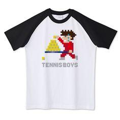 テニスボーイズ 玉拾いver | デザインTシャツ通販 T-SHIRTS TRINITY(Tシャツトリニティ)