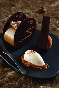 café gourmand, cheesecake revisité #dessert #patisserie