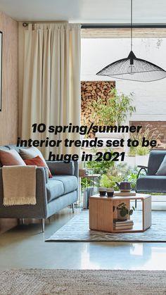 70s Home Decor, Rooms Home Decor, Interior Design Themes, Interior Ideas, Home Decor Inspiration, Decor Ideas, Industrial Home Design, Home Design Living Room, Green Sofa