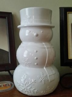 New Snowman scenterpiece from YC