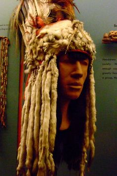 Headdress used by members of the Horn Society of the Blackfoot people by mharrsch, via Flickr